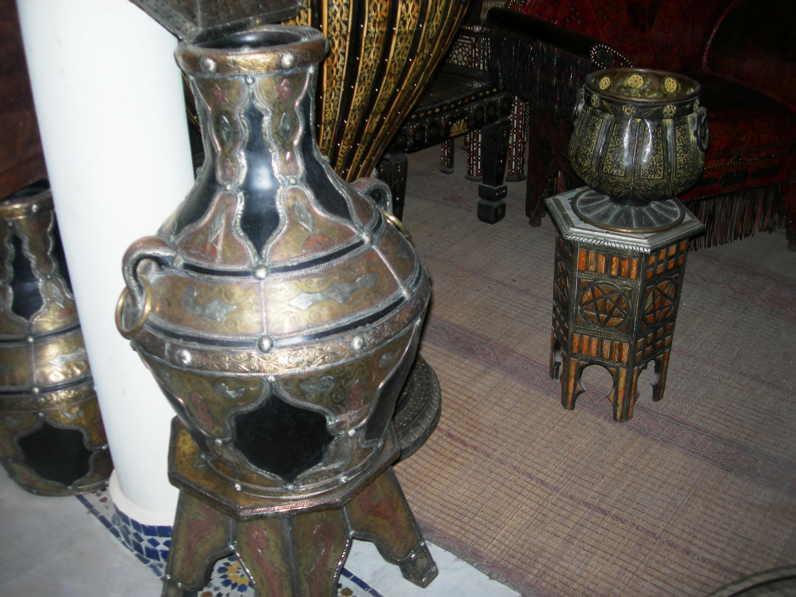 Objets marocains