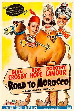 """""""Road to Morocco"""" : un film et une chanson de Hollywood qui célébraient le Maroc"""