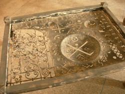 Table en fer originale