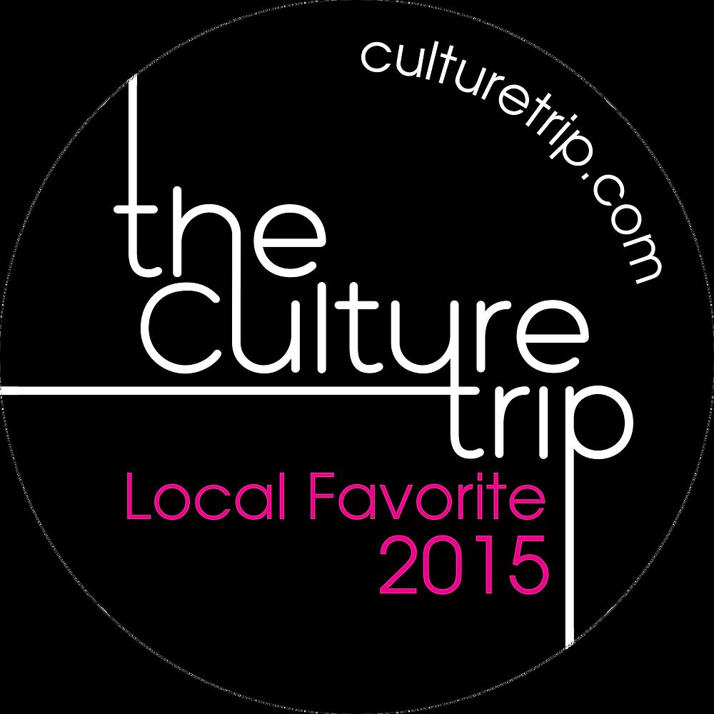 Le logo du Culture Trip Agadir Local Favorites 2015.