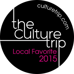 Le logo du Culture Trip Agadir Local Favorites 2015.