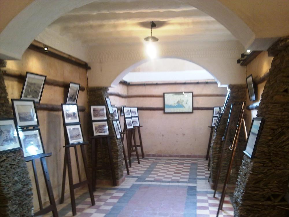 L'exposition du Jardin Olhao sur le tremblement de terre de 1960 est minimale