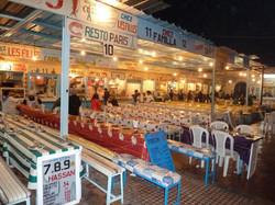Des dizaines de restaurants