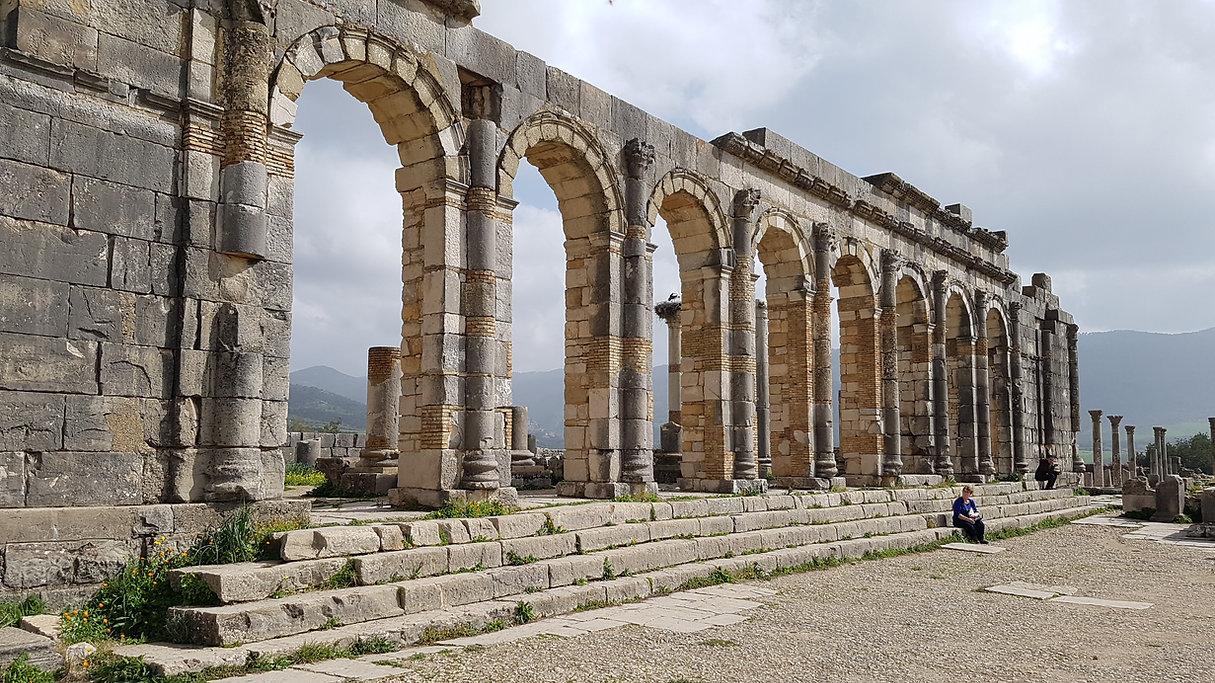 Volubilis près de Meknès : le Maroc éternel des Romains