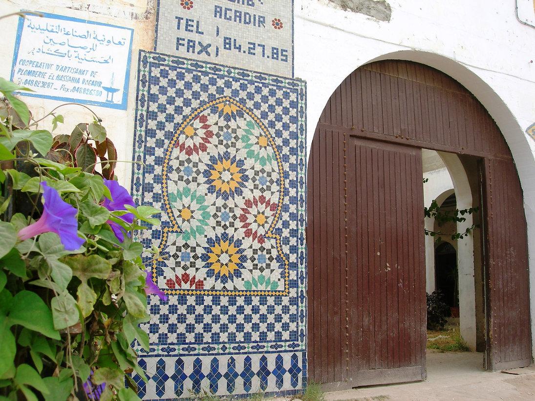 Agadir : terres cuites de Fès à gogo à la coopérative Achabab