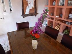 Table au bouquet