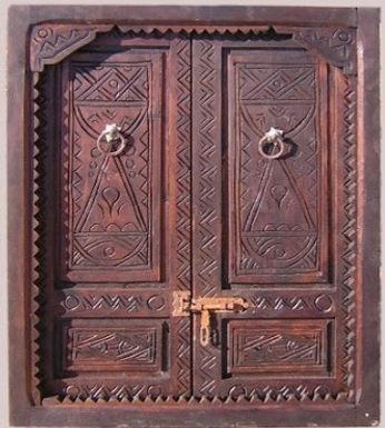 J'ai enfin trouvé mes portes amazigh