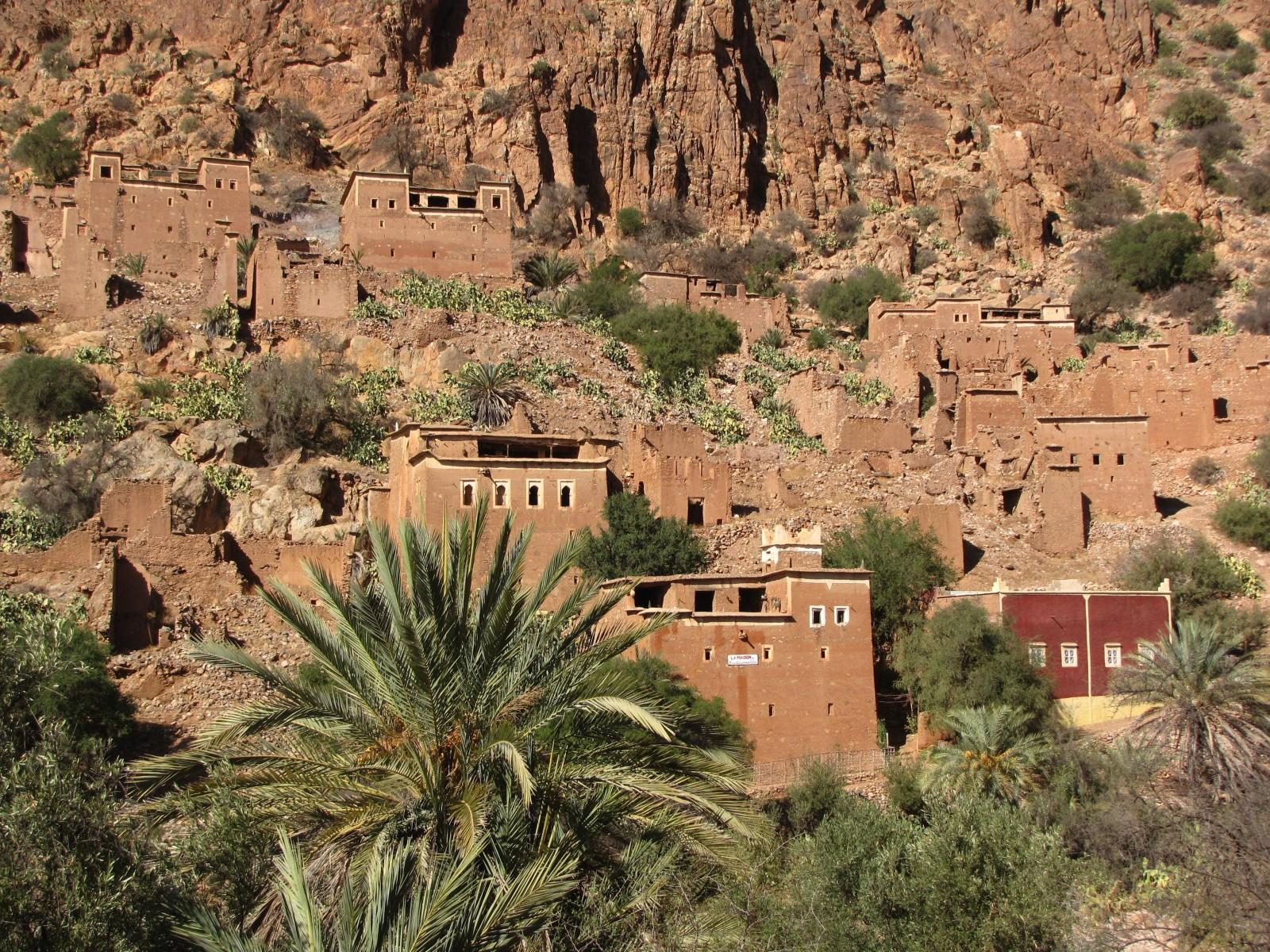 Village d'Oumesnat près de Tafraout