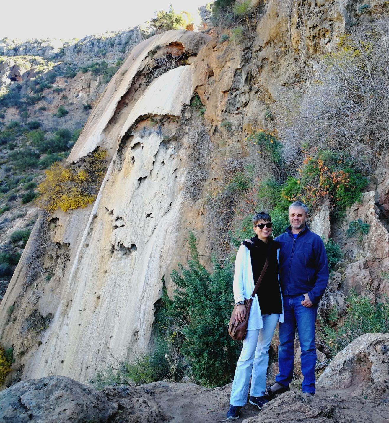 Aux cascades d'Imouzzer