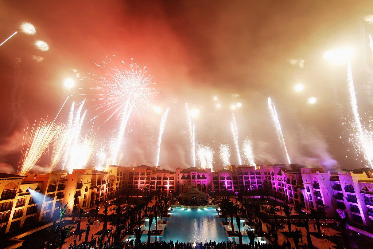 Mazagan : inauguration en grande pompe sous les feux d'artifice