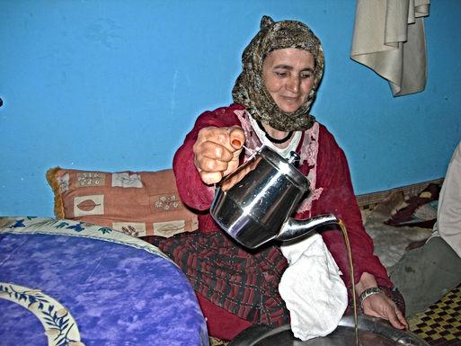 Aiguida et Mohammed, adorables voisins de mon douar d'Ouled Alioua
