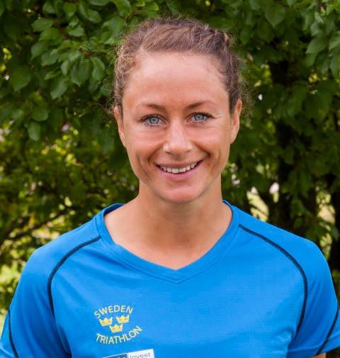 La Suédoise Amanda Bohlin, gagnante du 7e Triathlon international d'Agadir.