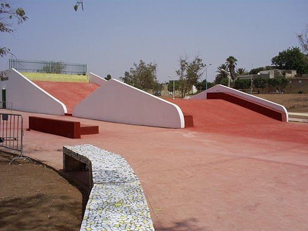Skate park d'Agadir