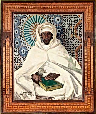 Le portrait du Glaoui, pacha de Marrakech, peint par Jacques Majorelle, mis en vente