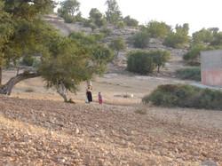 Femme berbère avec enfant