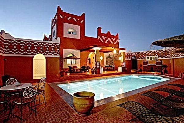 Ouarzazate et la Vallée des Roses : Le Petit Riad et Dar Timitar