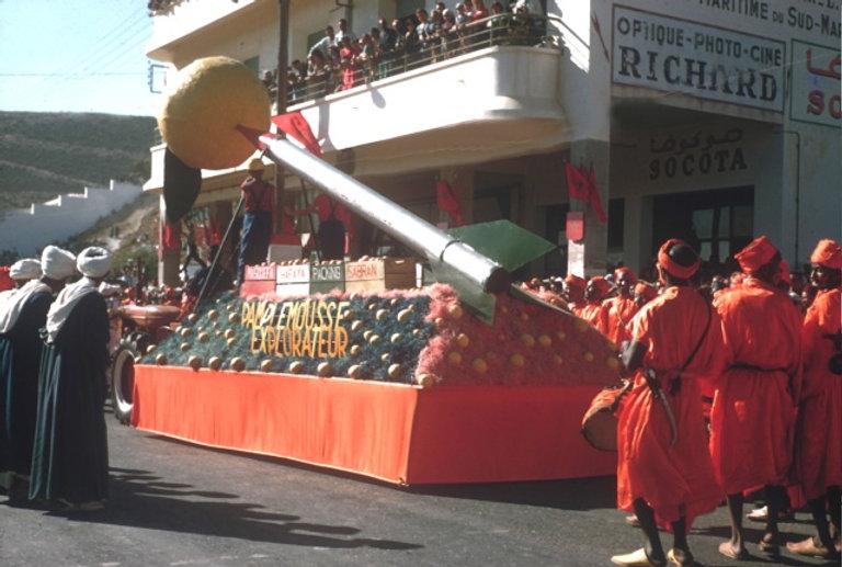 Juste après l'Indépendance, Agadir organisait une Fête de l'Orange