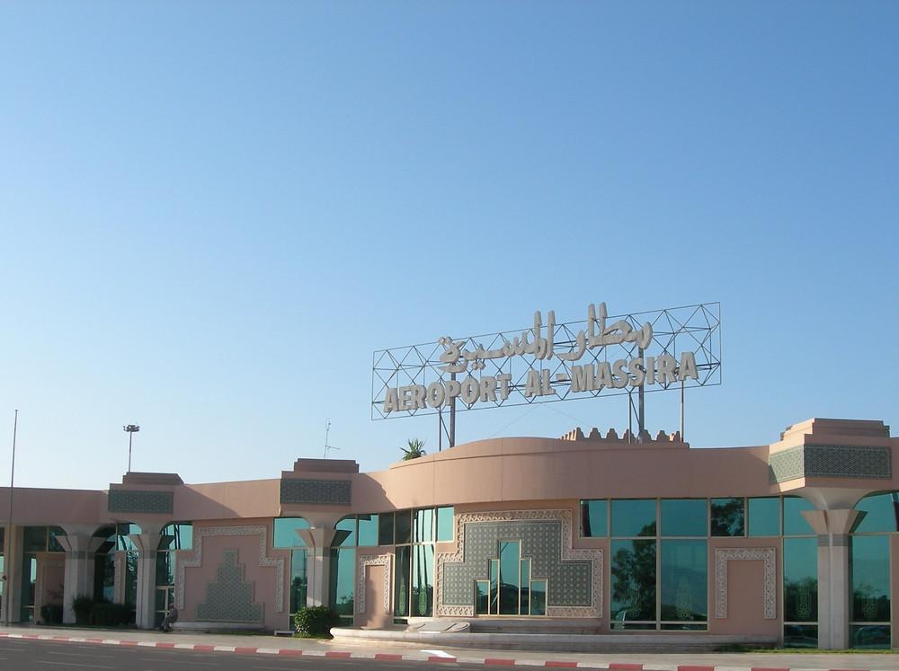 L'aéroport Al Massira d'Agadir