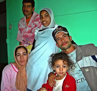 Une famille accueillante à Ouled Teima