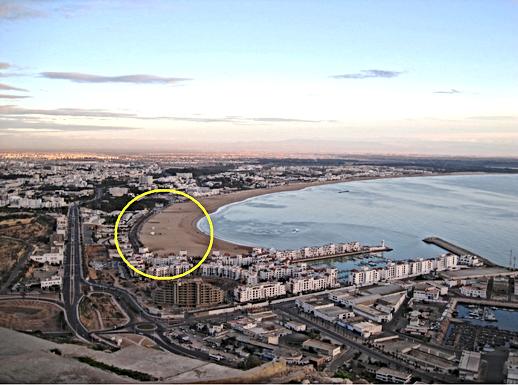 Corniche d'Agadir : nouveaux travaux pour compléter la promenade