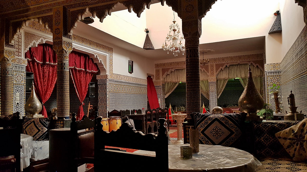 Un riad traditionnel à Meknès