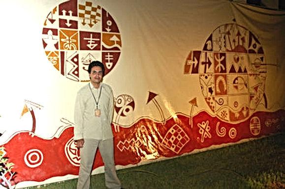 L'artiste amazigh Abdallah Amennou s'exprime dans une dimension moderne