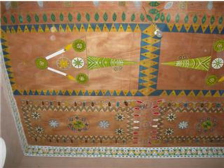 Riad majestueux : superbes dessins berbères... allumés