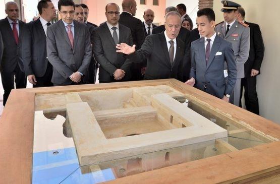 Inauguration par le prince héritier Moulay El Hassan.