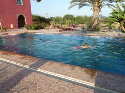 Une piscine où l'on nage vraiment !
