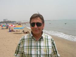 A la plage d'Agadir