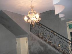 Escalier et balustrade