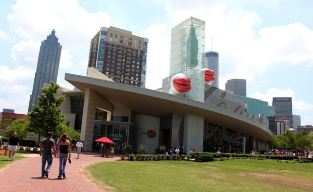 Le Musée Coca-Cola d'Atlanta, qui sert de modèle au projet de musée d'Agadir