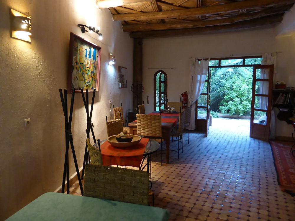 L'ex-salle à magner des Bains berbères près de Taroudant.