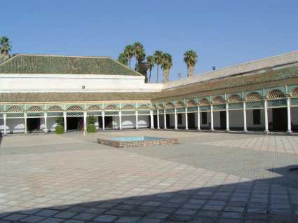 Le Palais de la Bahia de Marrakech, chef-d'œuvre arabo-mauresque