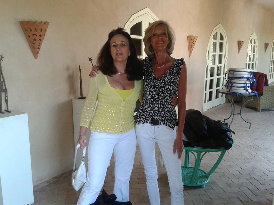 Dans la galerie Souss