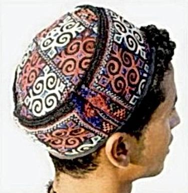 Quelles merveilles, ces bonnets berbères tissés !