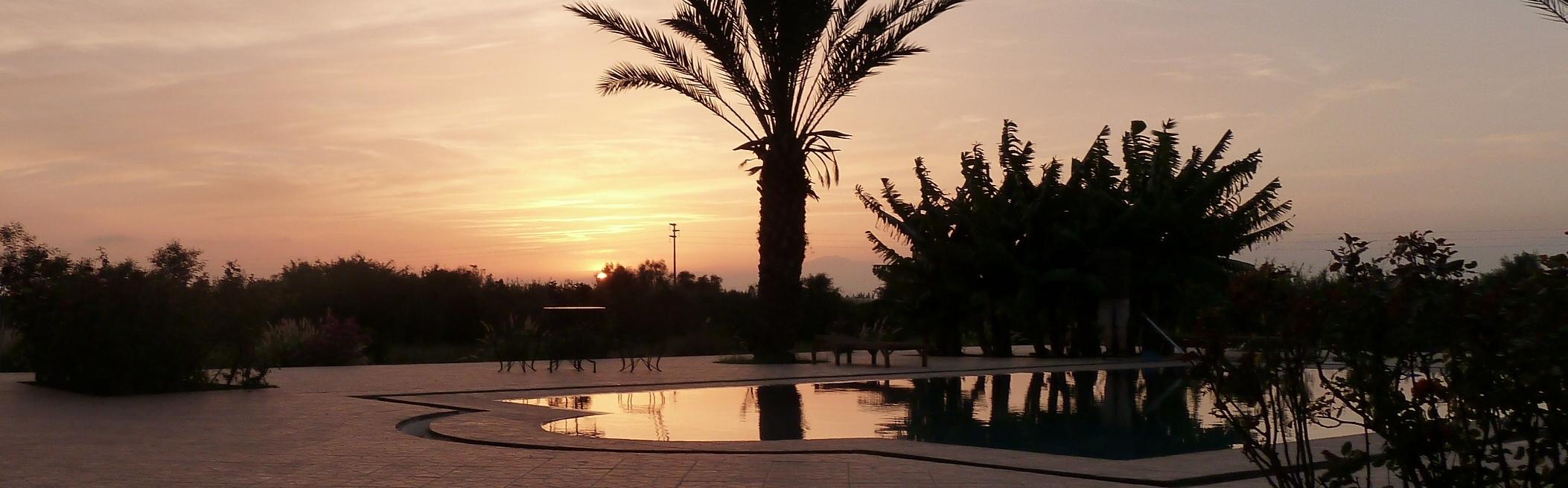 Coucher de soleil côté Agadir