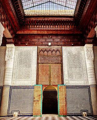 Le Musée des Confluences installé dans l'ancien palais du Glaoui est superbe