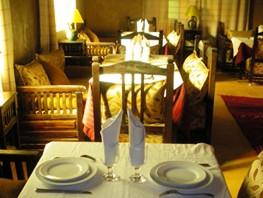 L'ex-salle à manger du gîte Igmir.