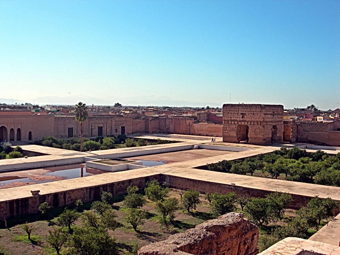 Le Palais El Badi de Marrakech, Versailles marocain presque nu