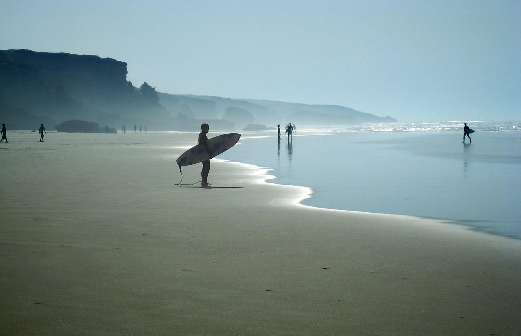 Ciel, sable et océan