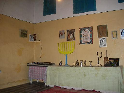 Les deux kippas de la petite synagogue de Marrakech