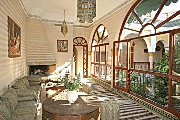 Un joli riad à Marrakech