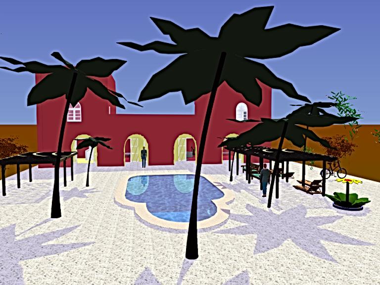 Mes maquettes en 3D du Jardin aux Etoiles