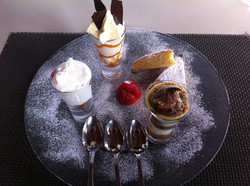 Desserts au top
