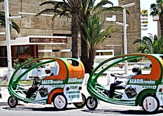 Sympa : des véhicules écolos à Agadir