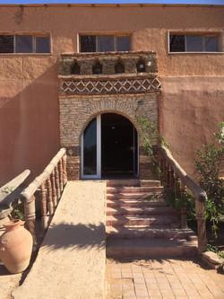 Porte d'entrée, au sud