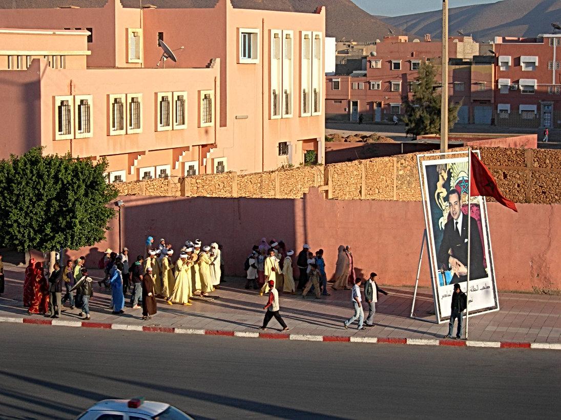 Visite du roi Mohammed VI à Guelmim