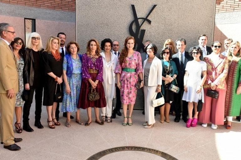 Le Musée Yves Saint Laurent de Marrakech inauguré par Lalla Salma