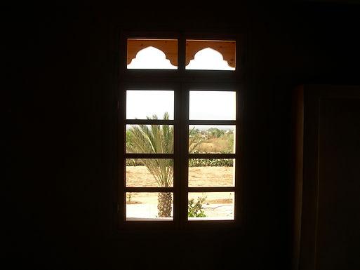 Les fenêtres installées une à une